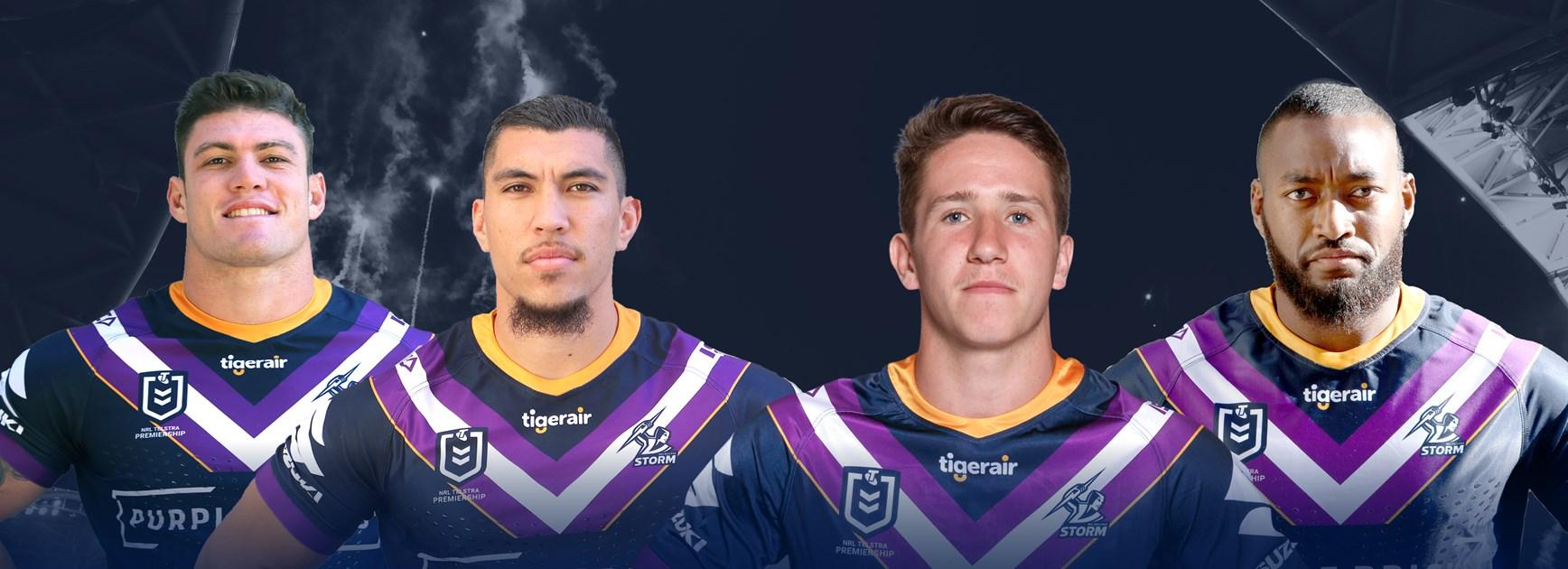 Storm finalises NRL playing squad