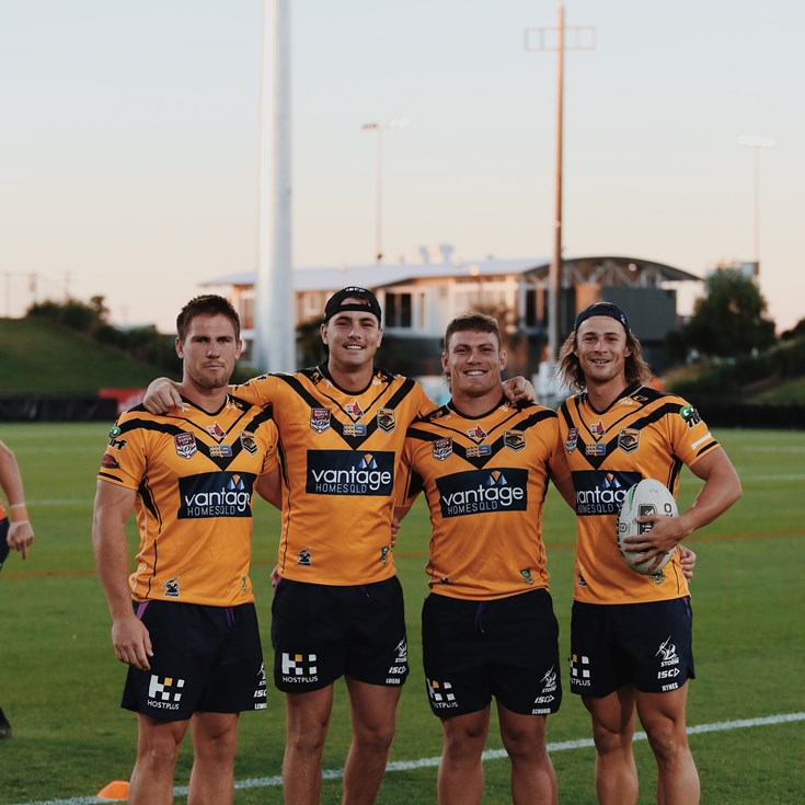 In pictures: Storm honour feeder clubs, Falcons and Easts