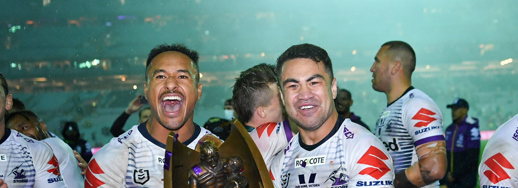 How a Billy Slater text message inspired the revival of the 'Big V'