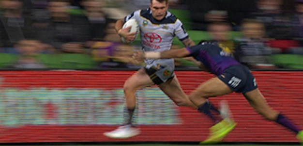 Full Match Replay: Melbourne Storm v North Queensland Cowboys (1st Half) - Round 15, 2017