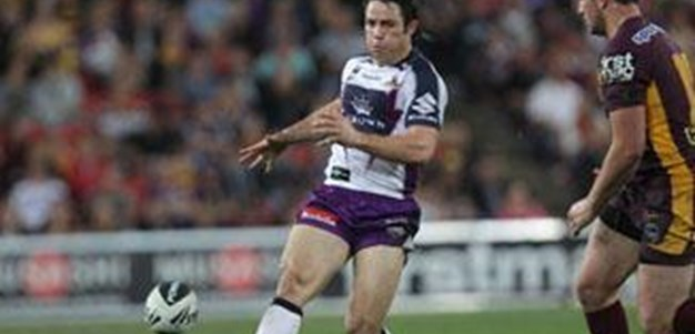 Rd. 4 Media - Cooper Cronk on the Shoulder Charge