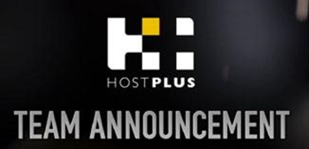 Round 5 - HOSTPLUS Team Announcement