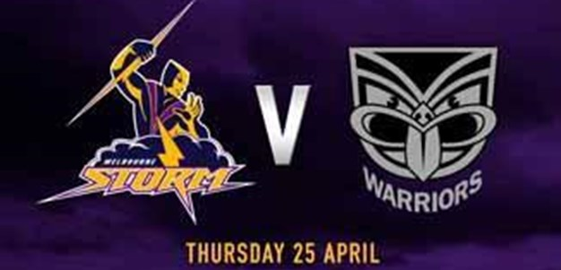 Storm Rivalries - Storm v Warriors