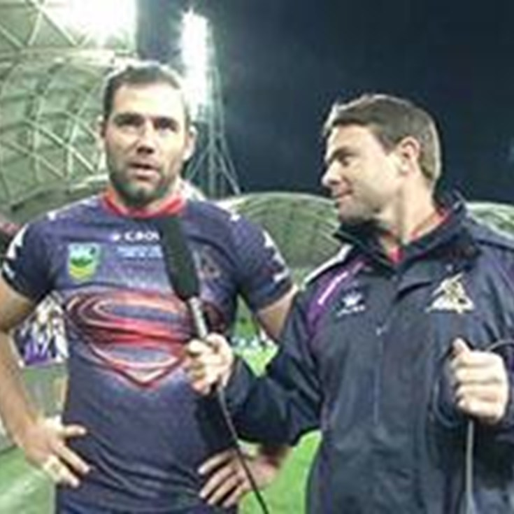 Rd. 13 Post Match Interview - Cameron Smith