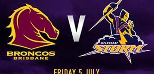 Rd. 17 - Rivalry Round v Broncos