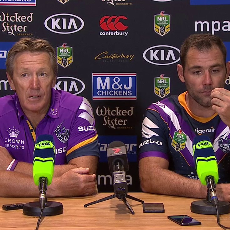 Round 1 - Post Match Press Conference