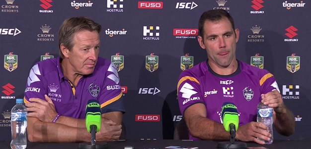 Round 2 - Post Match Press Conference