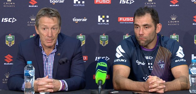 Round 8 - Post Match Press Conference