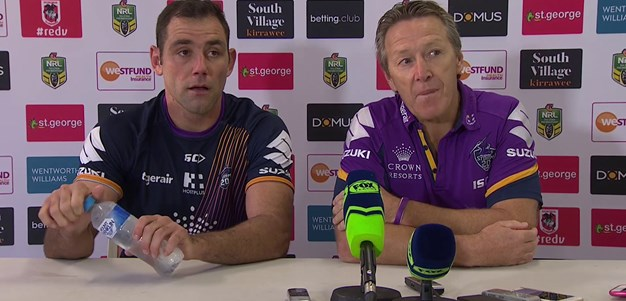 Round 9 - Post Match Press Conference