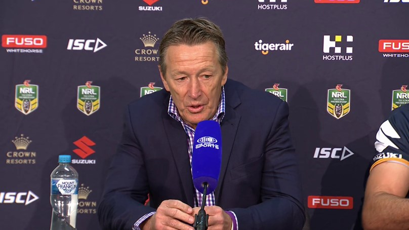 Round 14 - Post Match Press Conference