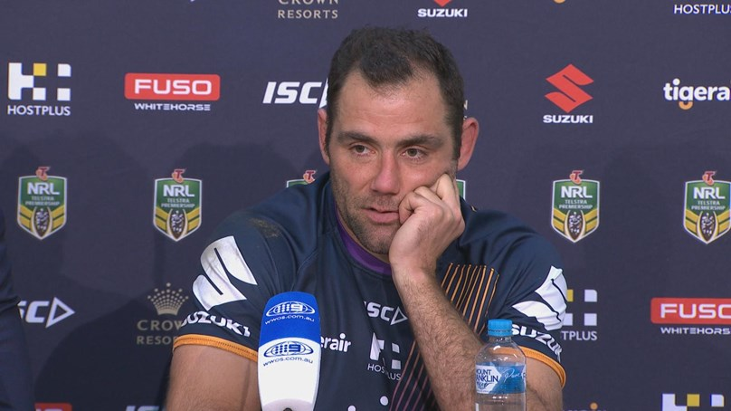 Storm press conference - Round 25
