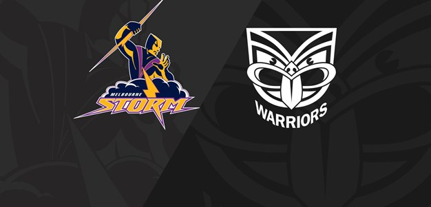 Anzac Day:Full Match Replay: Storm v Warriors - Round 8, 2018