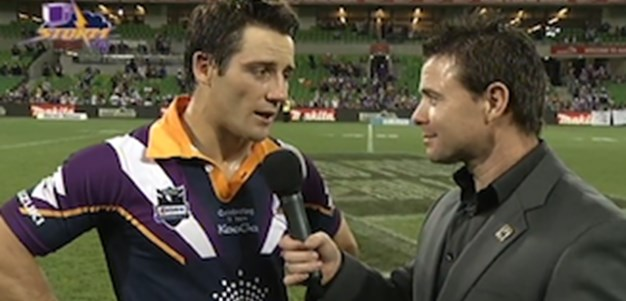 Cooper Cronk post match interview & highlights