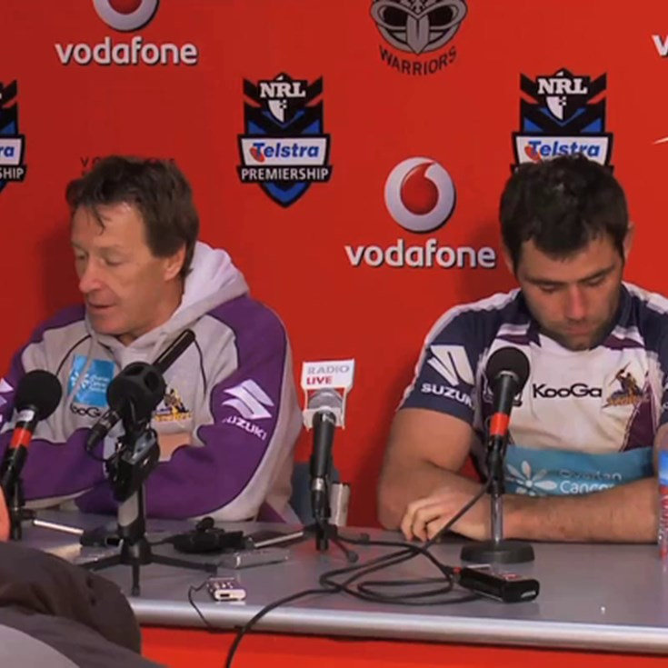 Rd. 16 v Warriors post-match press conference