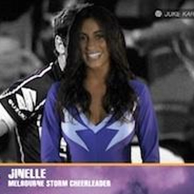 Storm Cheerleader of the Week - Jinelle