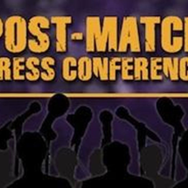 Rd. 22 v Panthers Post-Match Press Conference