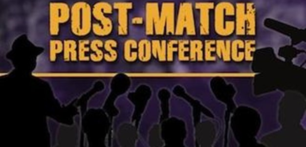 Melbourne Storm Preliminary Final V Warriors - Post Match Press Conference