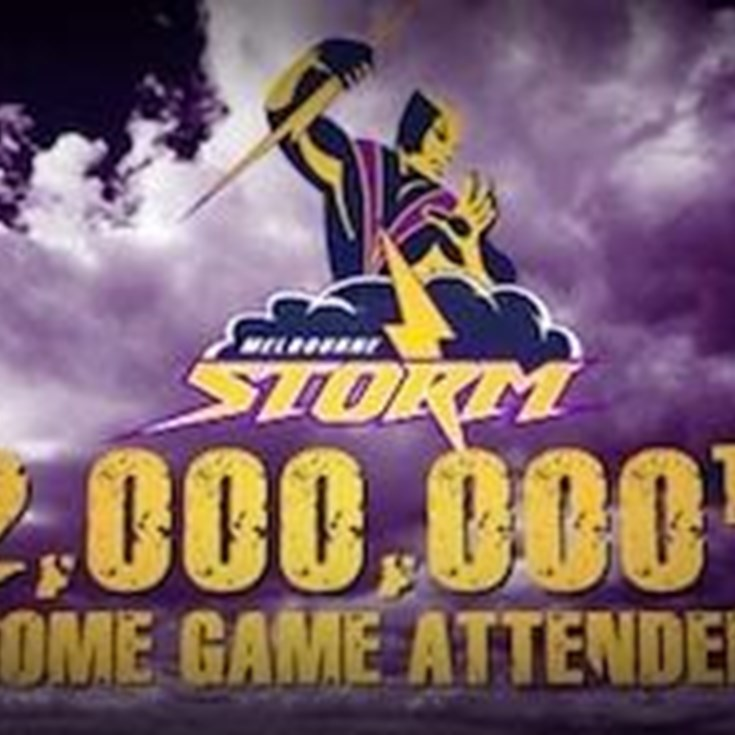 Storm's Two Millionth Home Fan
