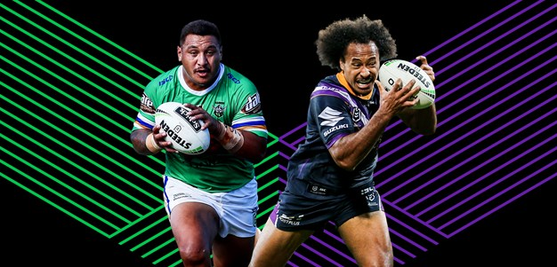 Raiders v Storm Round 2 preview