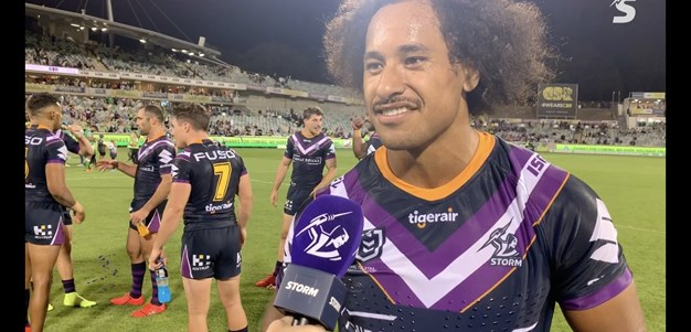 Felise Kaufusi - 'I think I ran at least 80...'