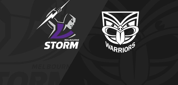 Anzac Day: Full Match Replay: Storm v Warriors - Round 7, 2019