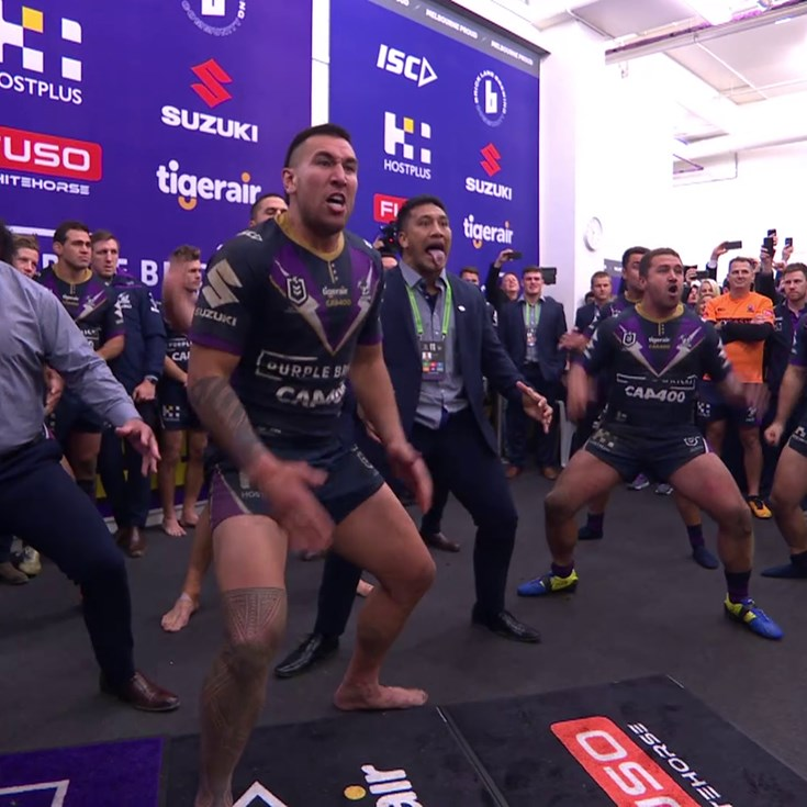 Storm players honour Smith with Haka