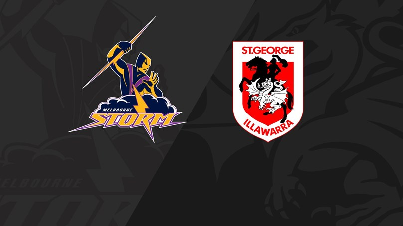 Full Match Replay: Storm v Dragons - Grand Final, 1999