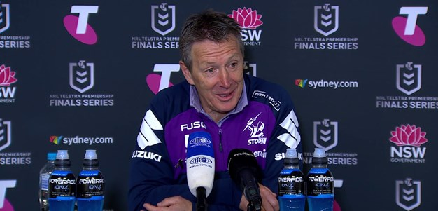 Bellamy post-match Preliminary Final