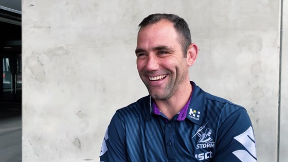 Cameron Smith - 'It's very special to be honoured alongside Billy Slater'