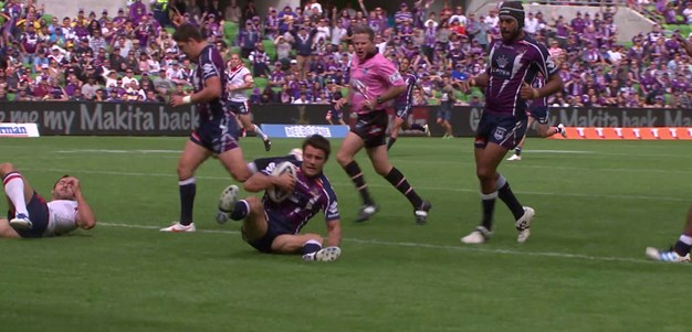 Cronk bags a double against the Roosters