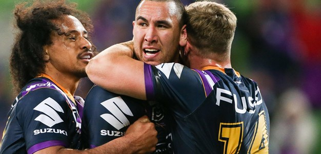 Last time they met: Storm v Cowboys - Round 25, 2019