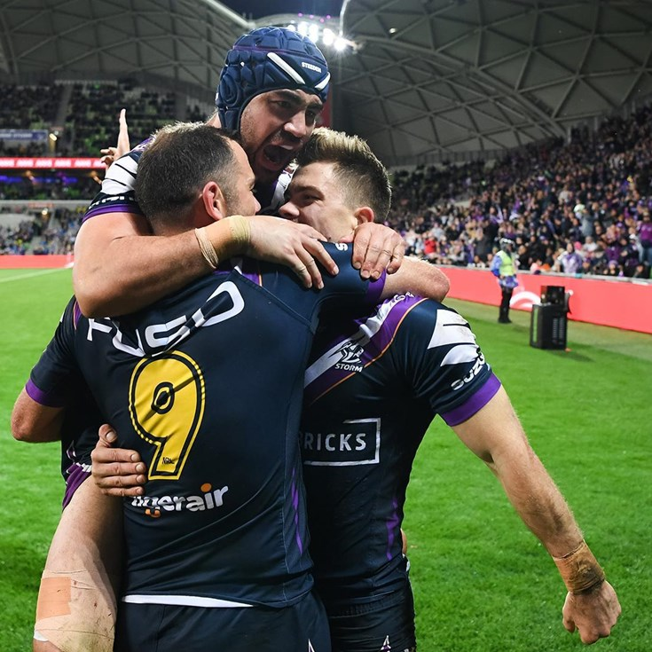 Last time they met: Storm v Eels - Semi Final, 2019