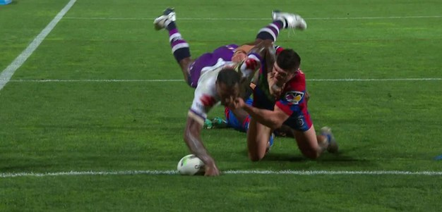 Vunivalu steps his way through the Knights defence