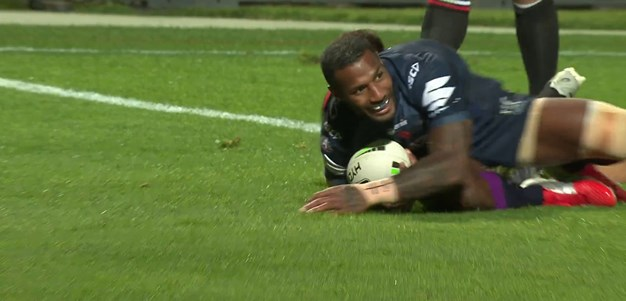 No respite for the Warriors left edge as Vunivalu gets a double