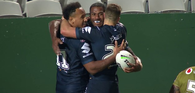 Hughes provides Vunivalu with his hat-trick