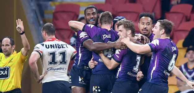 Re-live the final minutes of the Storm-Roosters thriller