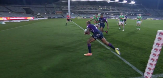 Addo-Carr crosses in the corner
