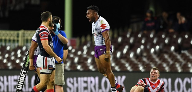 Match Highlights: Roosters v Storm