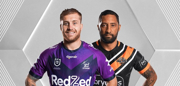 Storm v Wests Tigers - Round 19