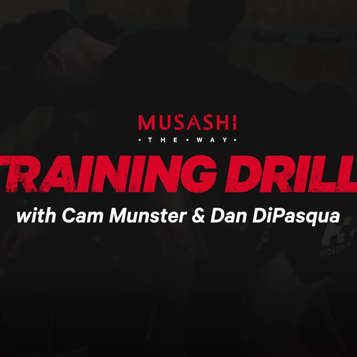 Train like Cameron Munster with Musashi