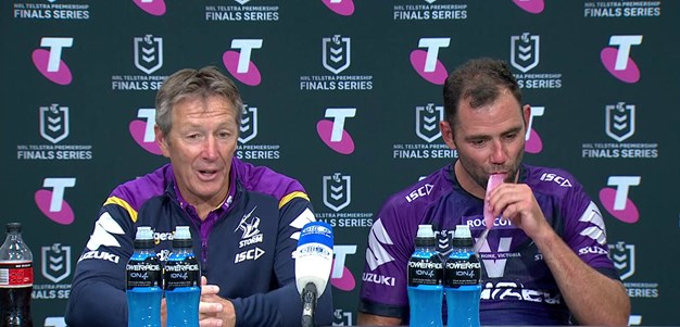 Bellamy, Smith: Prelim Final Presser