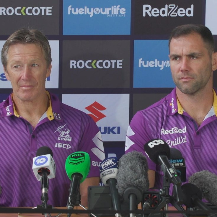 Storm Grand Final Media Conference
