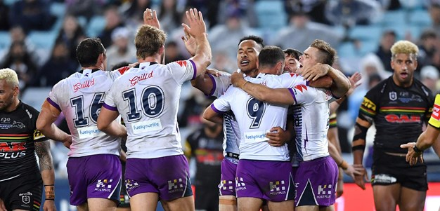 The final moments of the Storm-Panthers grand final