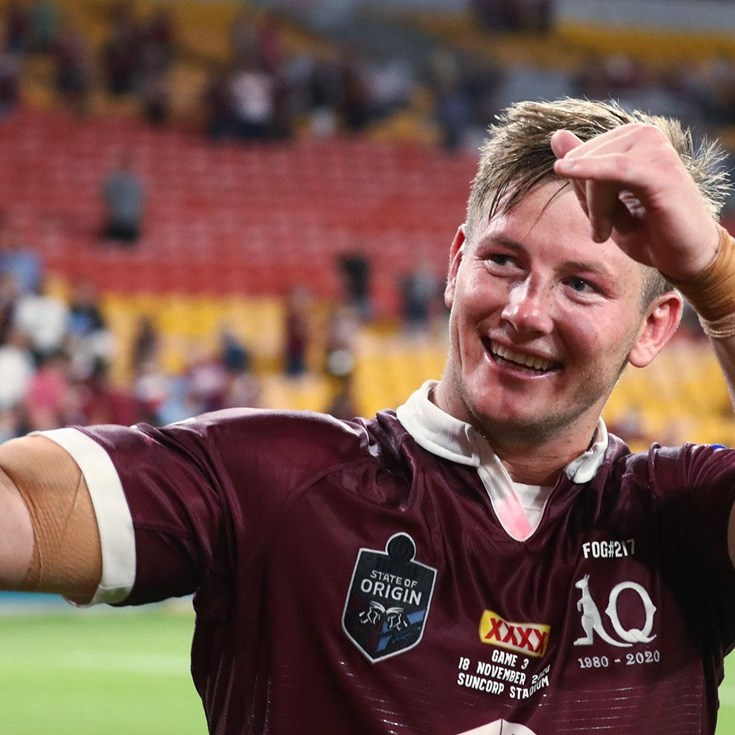 Harry Grant on a 'surreal' Maroons debut
