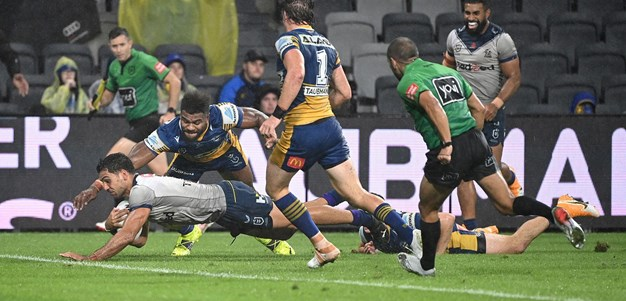 Reimis Smith gets his first try in Storm colours