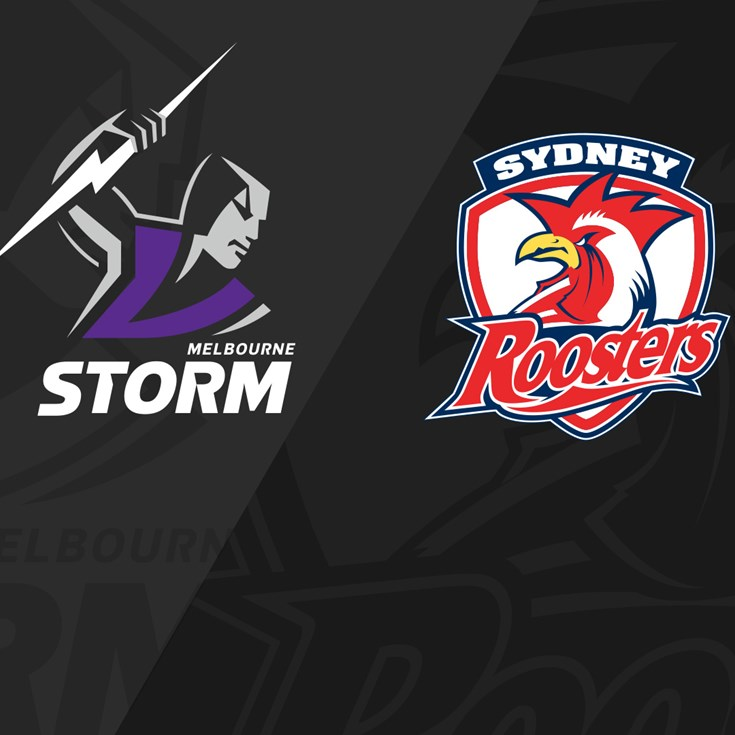 Full match: Storm v Roosters - Round 6, 2021