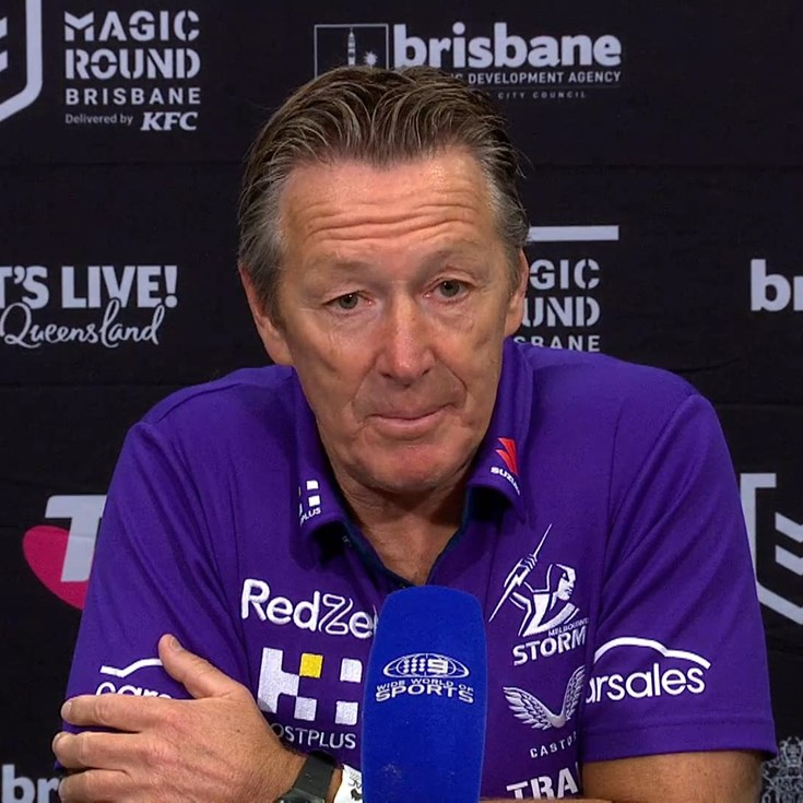 Bellamy: Magic Round post-game presser
