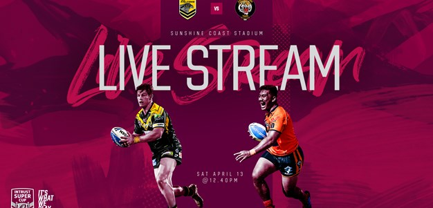 Live stream: Sunshine Coast Falcons v Easts Tigers