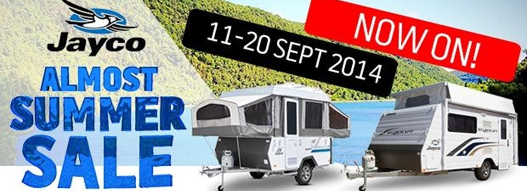 Jayco's Almost Summer Sale