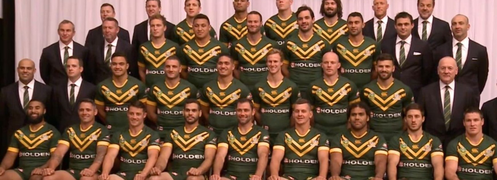 Kangaroos team photo shoot